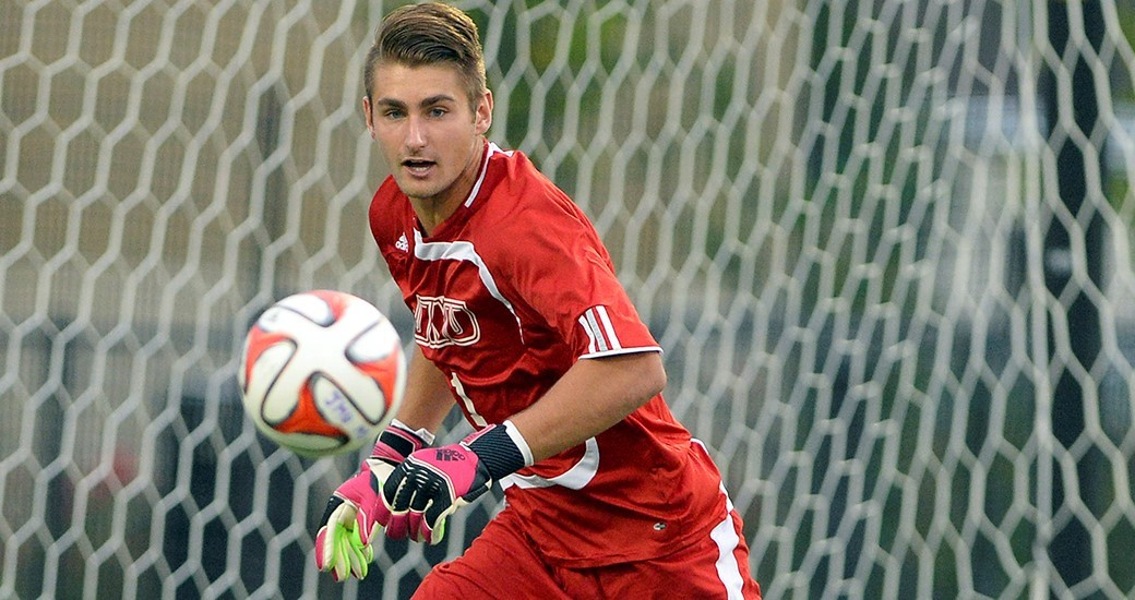 Men's Soccer: First-Half Goal Lifts Dayton Past JMU