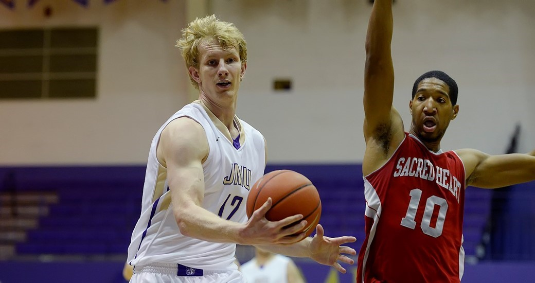 Men's Basketball: Dukes Move to 4-1 with 79-72 Win Over Sacred Heart