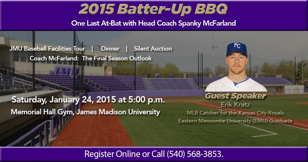 Baseball: Dukes to Host Sixth Annual Batter-Up Barbeque on Jan. 24