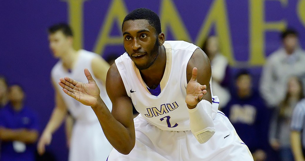 Men's Basketball: Curry, Dukes Storm Back for 69-63 Road Win at Hofstra