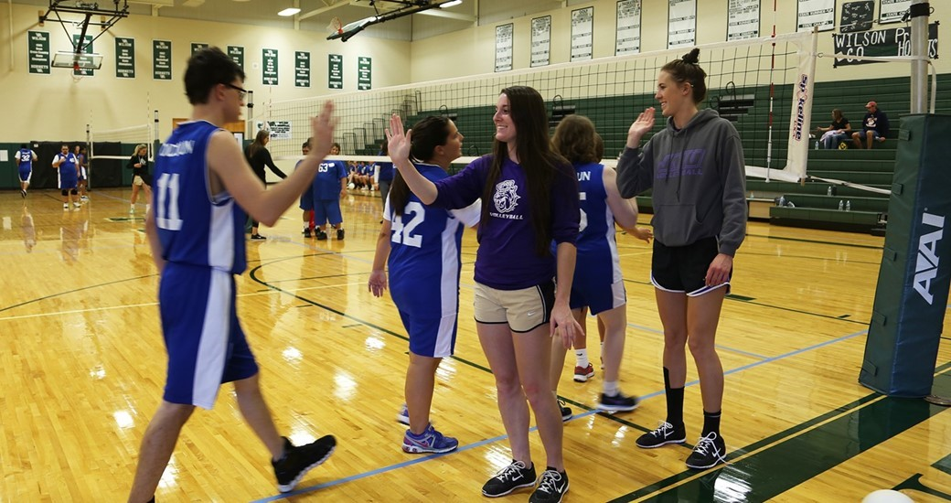 Community Relations, Facilities-Volleyball: Volleyball Referees Special Olympics Tournament