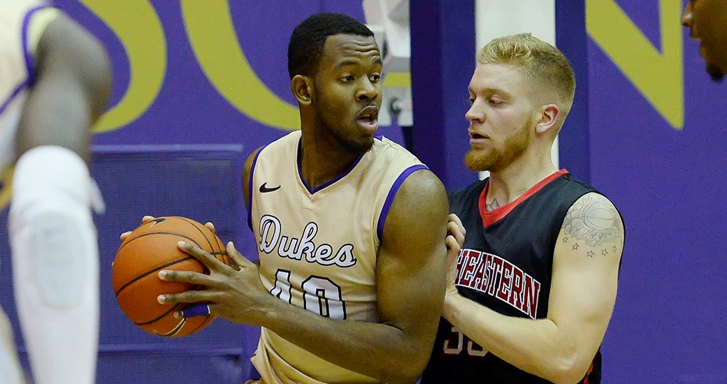 Men's Basketball: Dalembert, Brown Power Dukes to 89-75 Win at Marshall