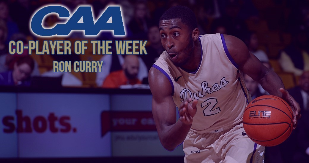 Men's Basketball: Curry Tabbed as CAA Co-Player of the Week