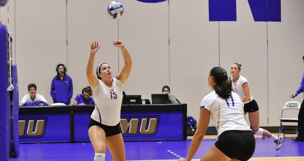 Women's Volleyball: Dukes Rally Back To Defeat Hofstra in 5