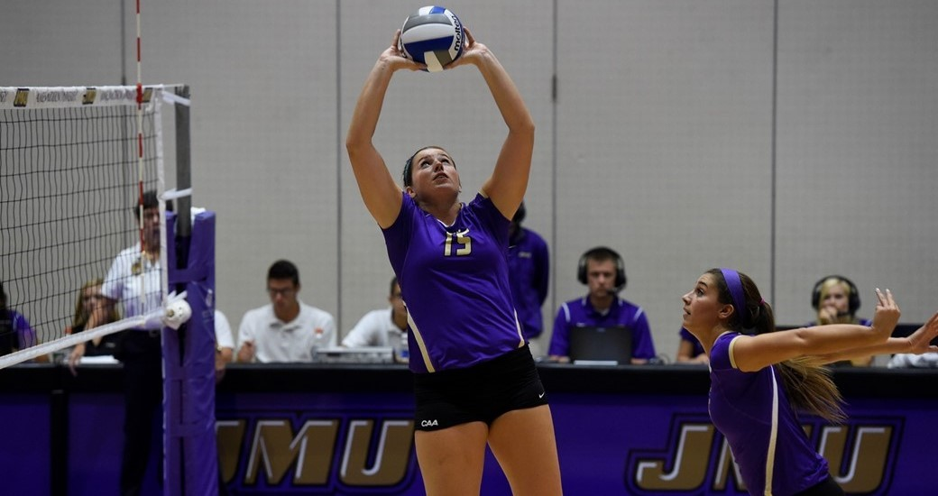 Women's Volleyball: Patterson Tabbed CAA Co-Offensive Player of the Week