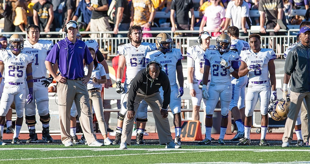 Football: Best of JMU at Towson in Photos