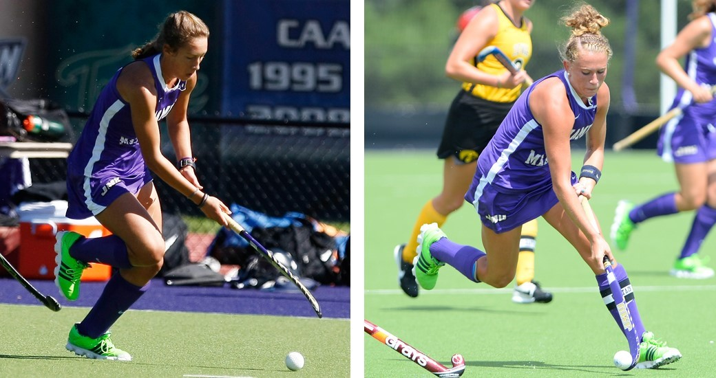 Field Hockey: Dukes Sweep Weekly CAA Honors After 2-0 Weekend