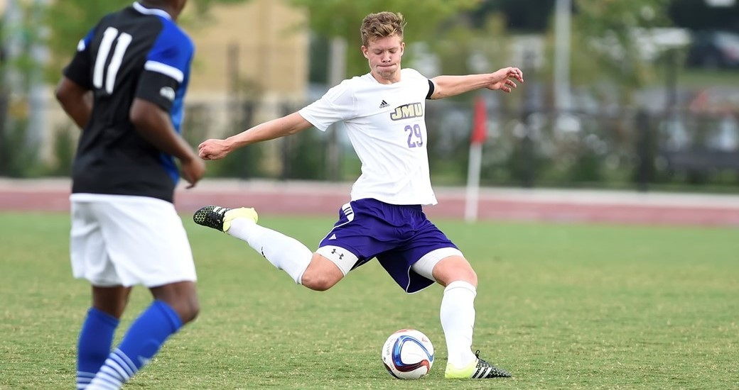 Men's Soccer: JMU and No. 18 UNCW Complete Scoreless Draw