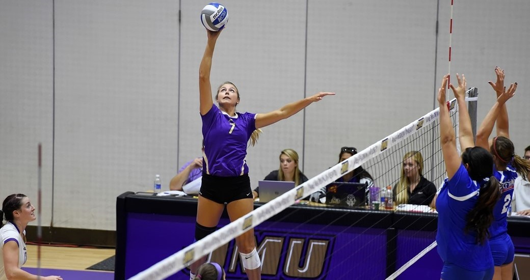 Women's Volleyball: JMU Improves to 4-0 in CAA Play With Win at W&M