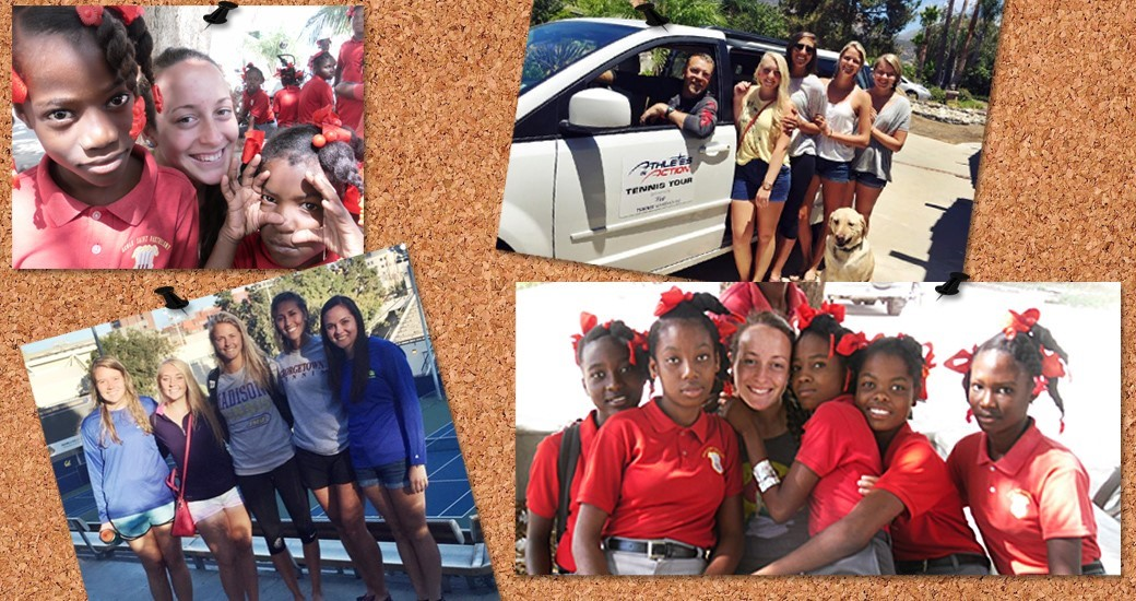 Women's Tennis: Dukes Spend Summer Giving Back Through Service Mission Trips