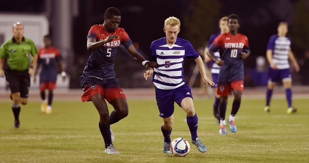 Men's Soccer: Dukes Draw 2-2 With Howard In Third Straight Overtime Game