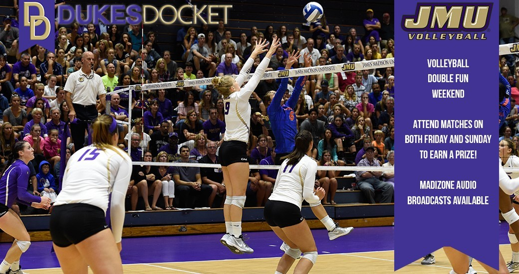General: Double Volleyball, Soccer, Field Hockey On Weekend Dukes Docket