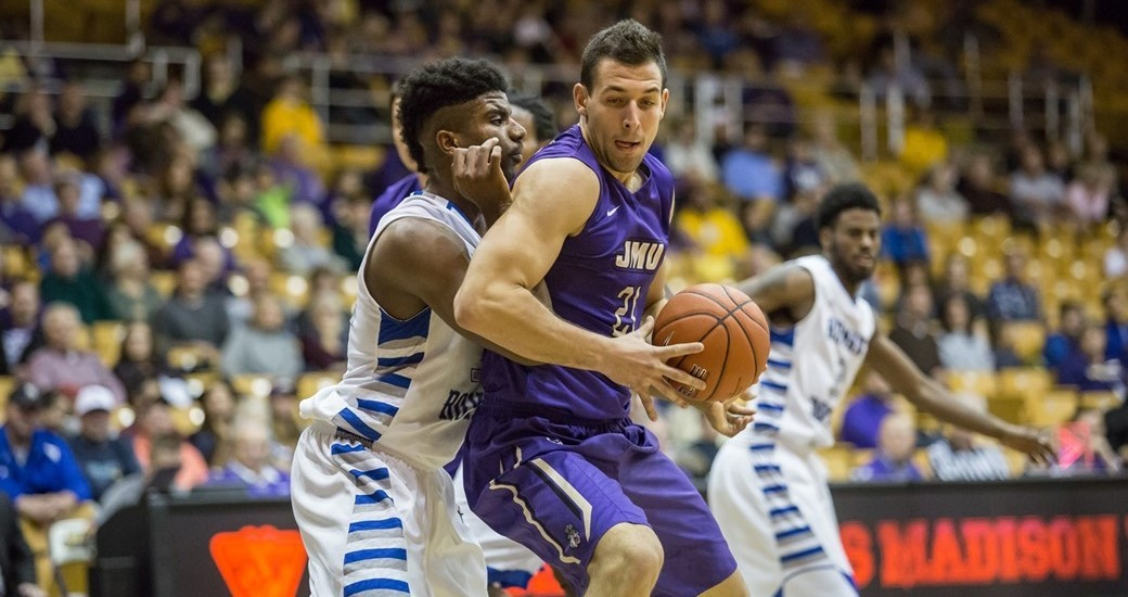 Men's Basketball: Cabarkapa's Career Night Lifts JMU To 106-74 Win Over EMU