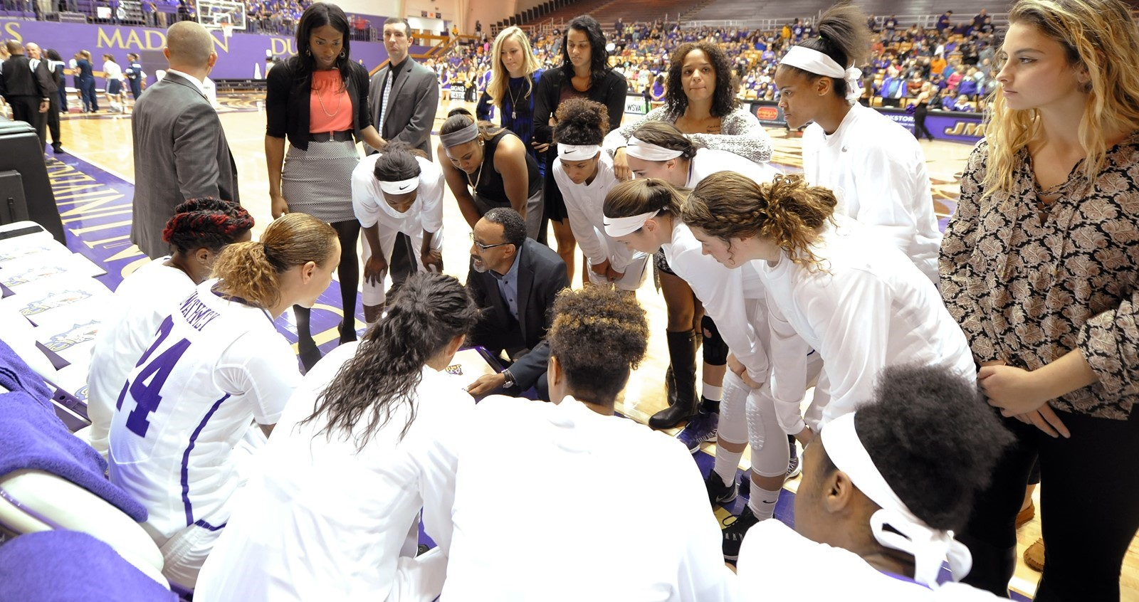 Women's Basketball: JMU vs. American Game Time Changed to 7 p.m.