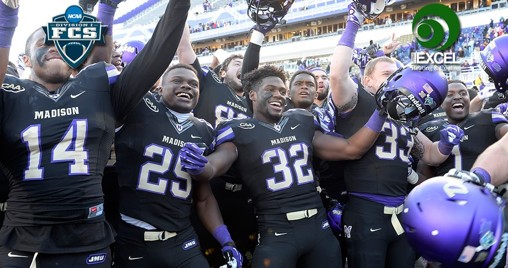 Football: Fifth-Seeded JMU to Host Colgate in FCS Playoffs Second Round