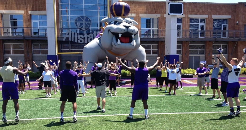 Football: JMU to Host Football Women's Clinic Tomorrow at Bridgeforth Stadium