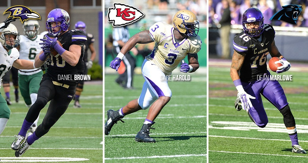 Football: Seven Former Dukes Head to NFL Training Camps