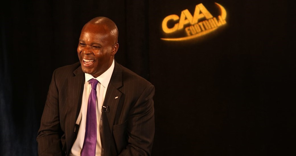 Football: Follow the Action at 2015 CAA Football Media Day