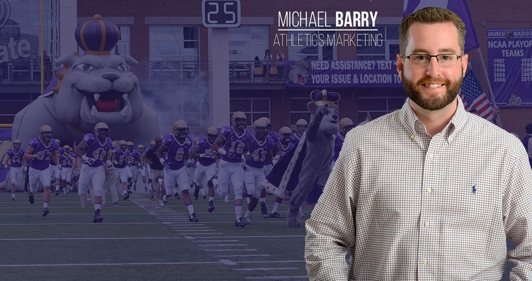 Promotions: Michael Barry Hired as Director of Athletics Marketing