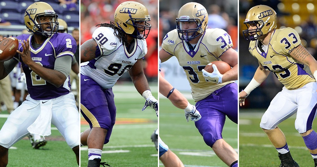 Football: JMU Football Announces 2015 Team Captains