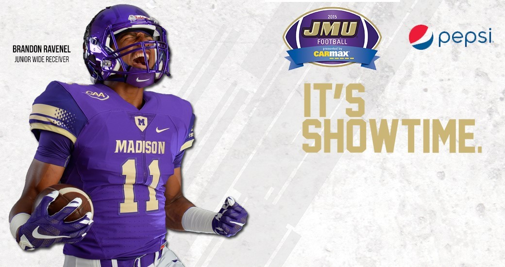 Football: No. 12 Dukes Set to Open Season Against Morehead State