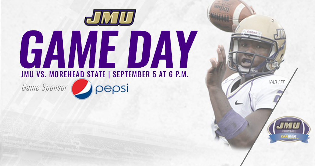 Football: 2015 Game Day Central: JMU vs. Morehead State