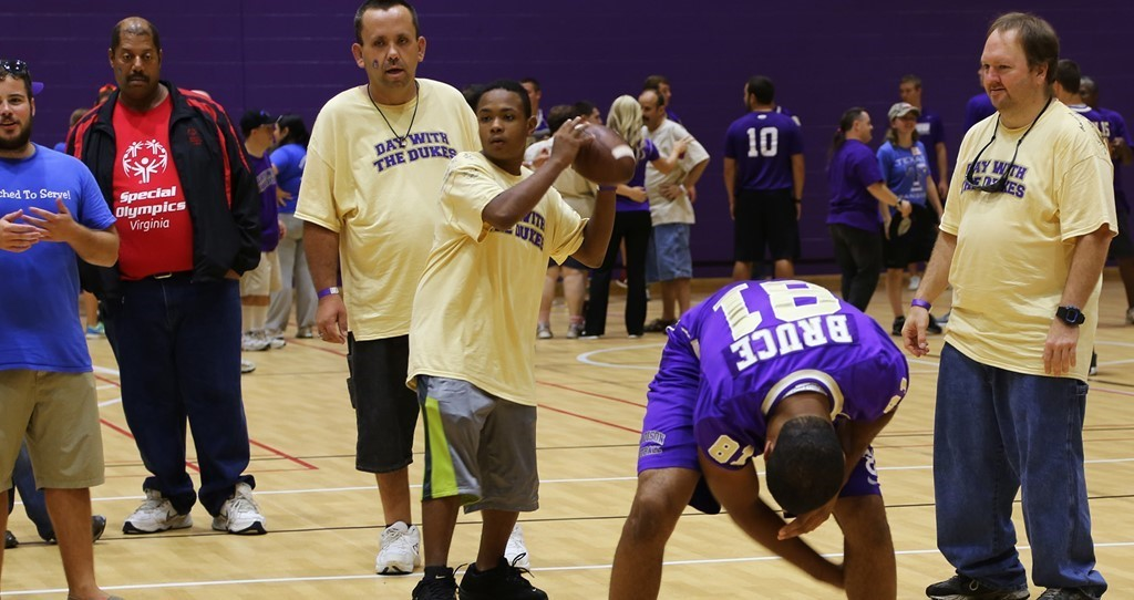 Community Relations: Ninth Annual Day with the Dukes