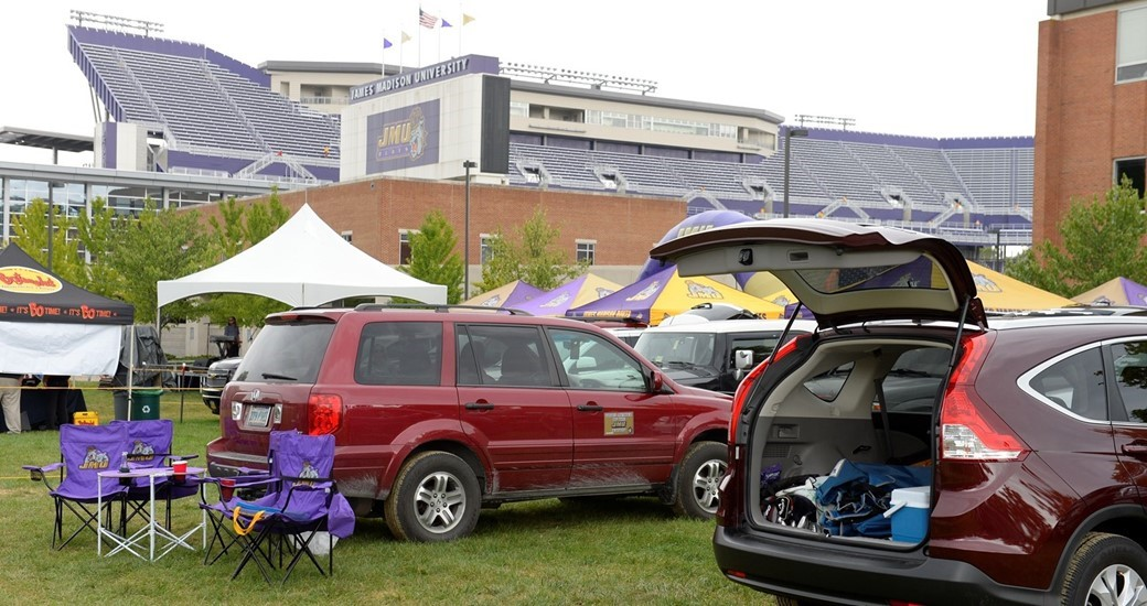 Football: Weather Changes JMU Family Weekend Parking and Pregame Activities
