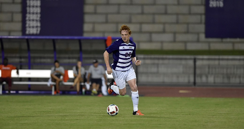 Men's Soccer: Early Goals Push Dukes to 2-0 Win over UNCW