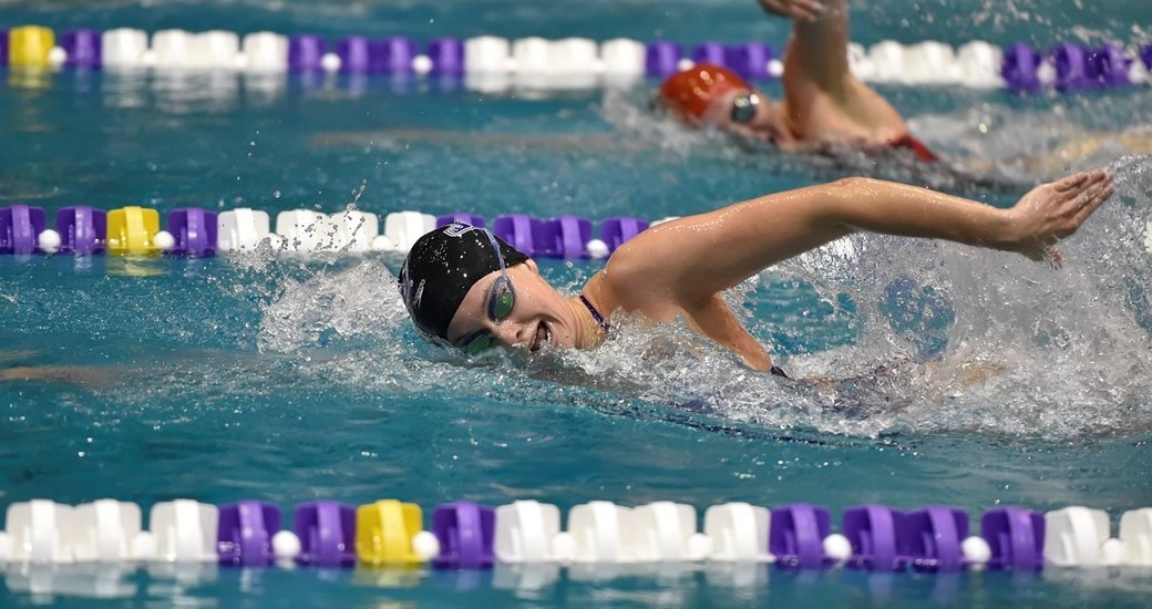Women's Swimming and Diving: Dukes Complete First Day of Carolina College Invitational