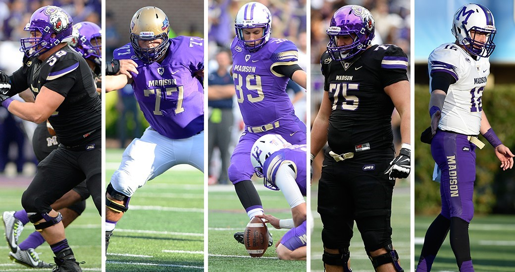Football: Five Dukes Named to NFF Hampshire Honor Society