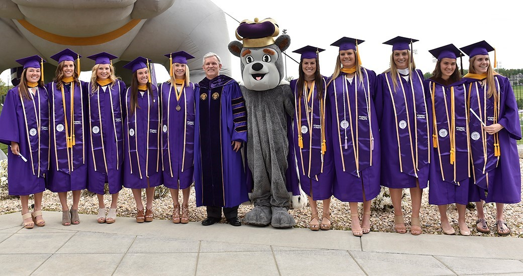 General, Women's Cross Country, Women's Lacrosse, Track & Field, Student-Athlete Services: JMU Lacrosse and Cross Country/Track & Field Hold Special Graduation