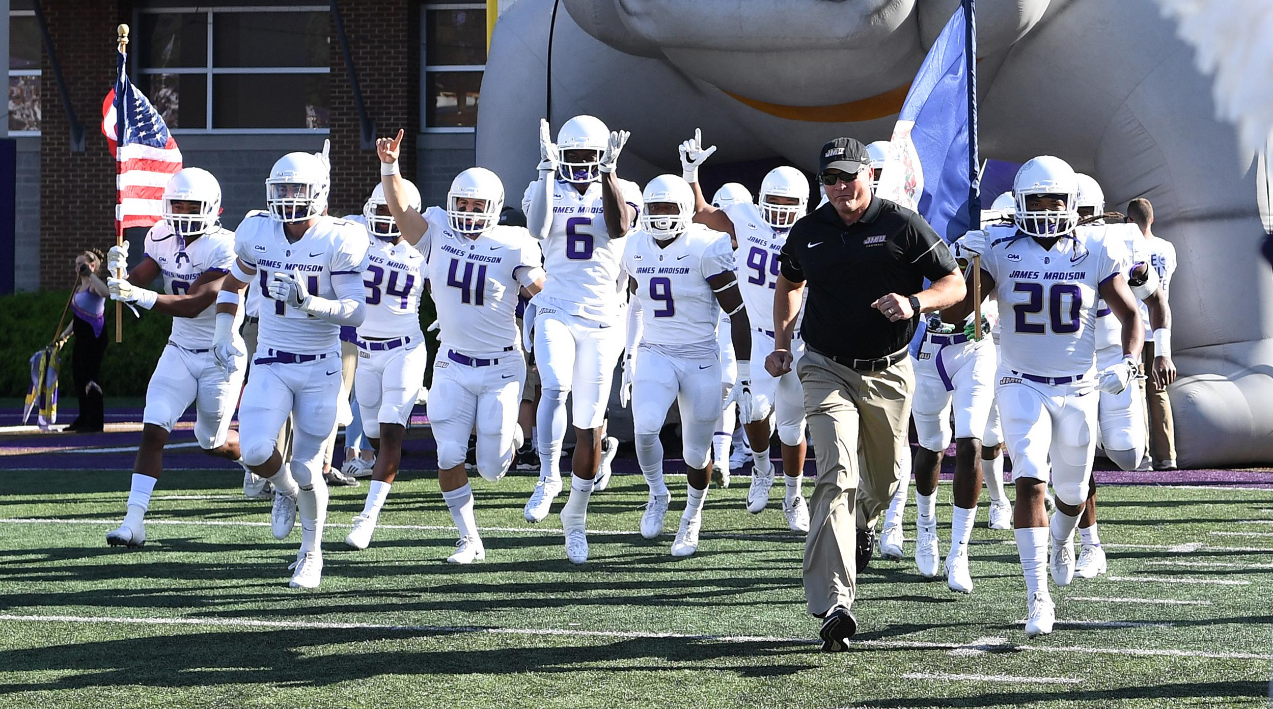 Football: Dukes Unanimous #1 in Coaches Poll, Take Top Spot for Eighth Straight Week)