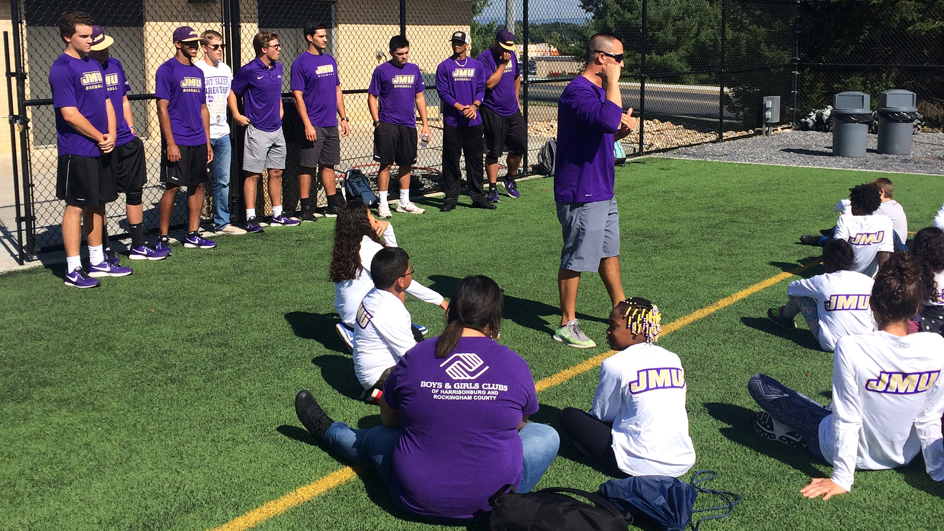 Baseball, Community Relations: Cal Ripken Sr Foundation Visits JMU Baseball)