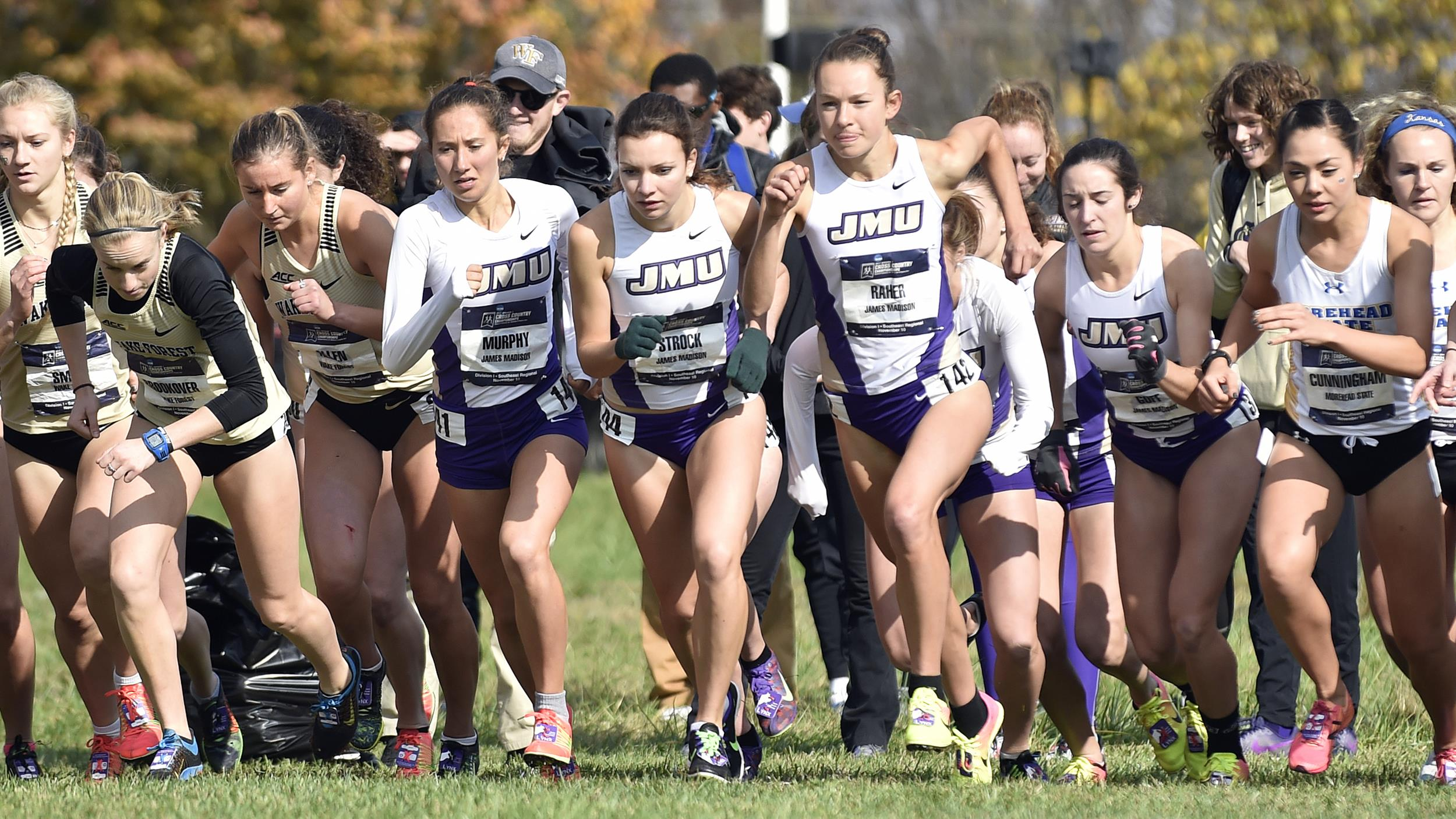 Women's Cross Country: Dukes Win ECAC Championship For Second Consecutive Year