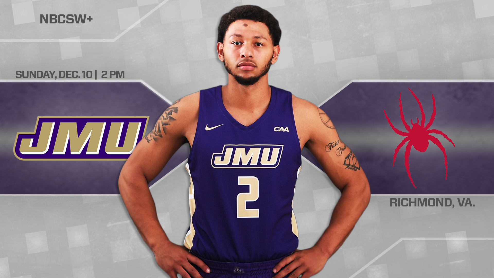 Men's Basketball: Dukes Set For In-State Bout Against Richmond)