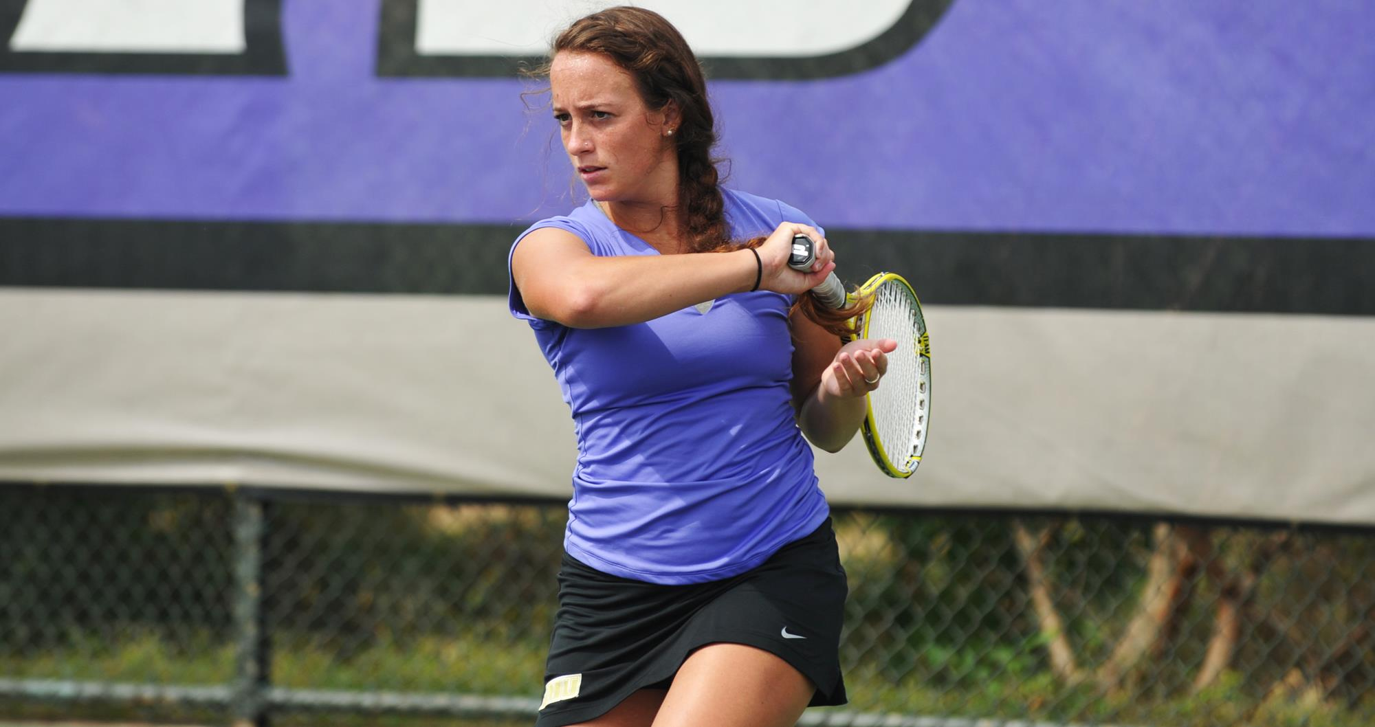 Women's Tennis: Dukes Sweep Howard 7-0 for Friday Victory)