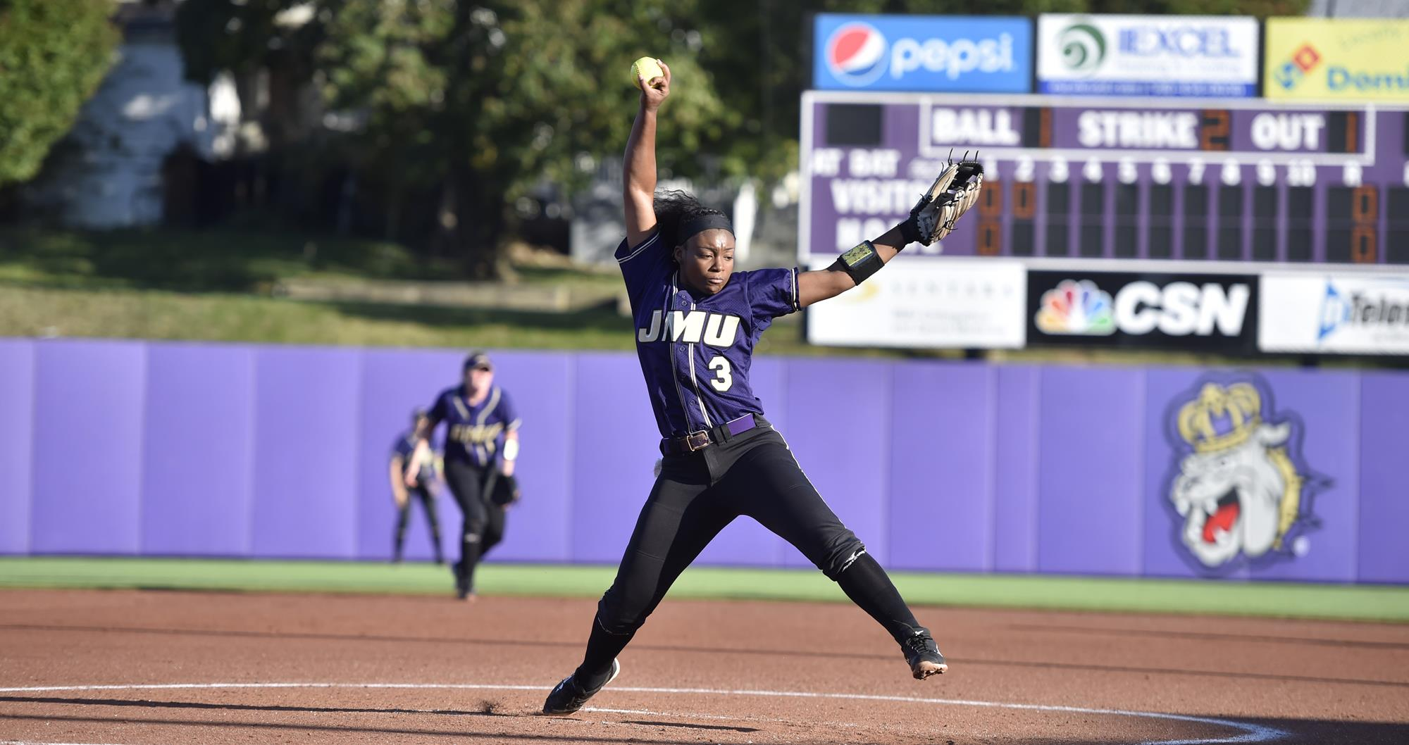 Softball: #14 Dukes Sweep Oklahoma State and #20 USF in Friday Slate)
