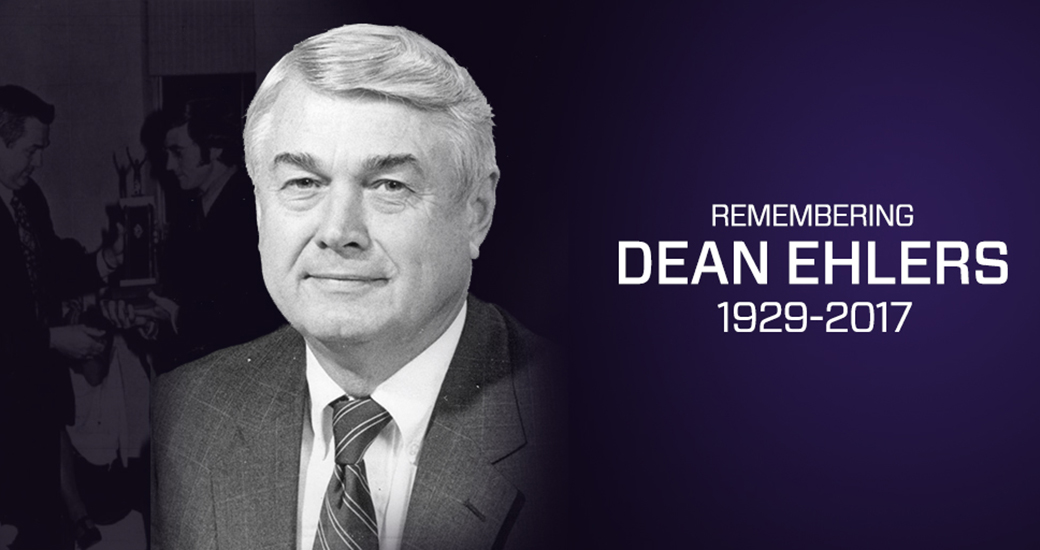 Administration: James Madison Mourns Passing of Former Director of Athletics Dean Ehlers)