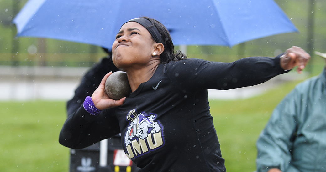 Track & Field: Morris Tosses Pair of PRs at UVa, Dukes Close Weekend at Penn Relays)