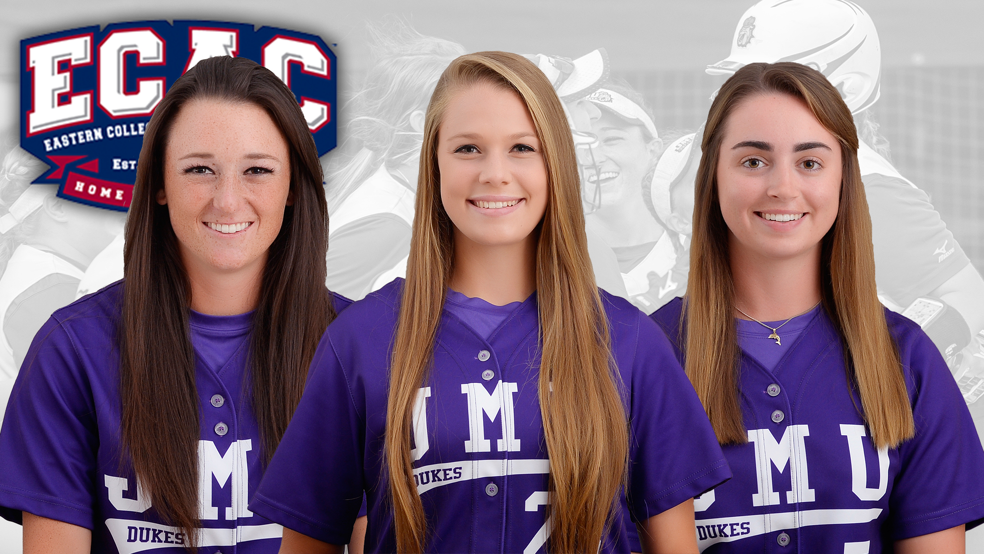 Softball: Good Earns ECAC Pitcher of the Year; Three Dukes Selected To All-ECAC Squads)