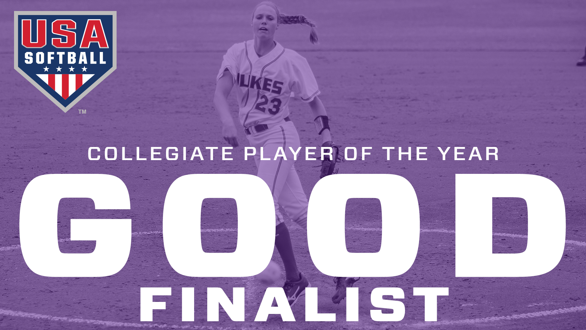 Softball: Good Named Top Three Finalist for USA Softball Collegiate Player of the Year
