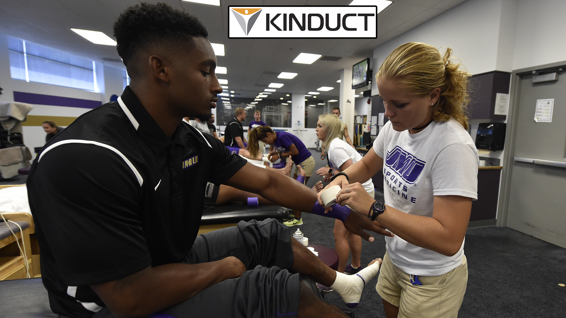 Sports Medicine: James Madison Partners with Kinduct to Improve Student-Athlete Performance)