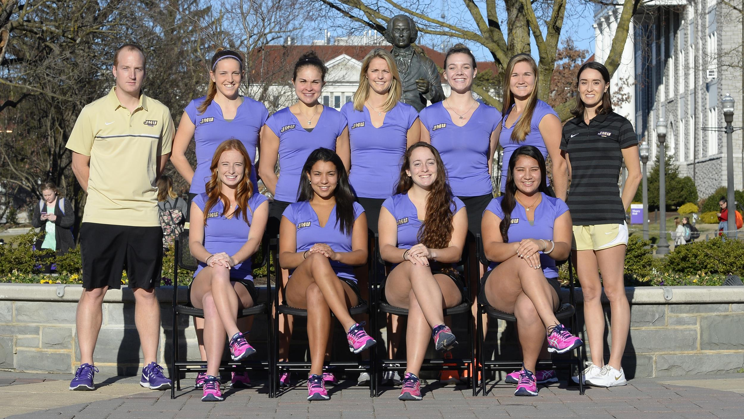 Women's Tennis: JMU Earns ITA All-Academic Honor, Two Dukes Scholar Athletes)