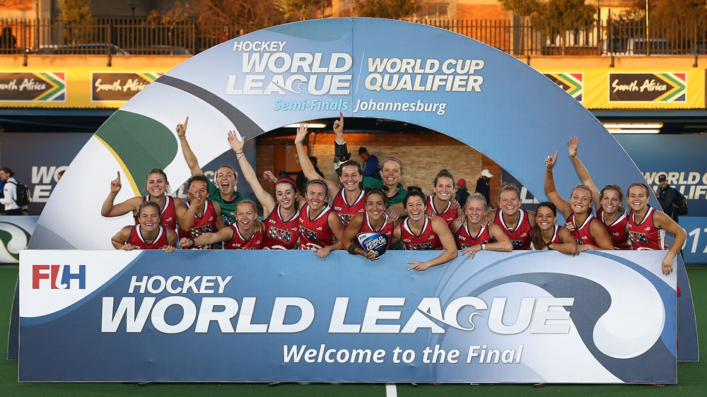 Field Hockey: Taylor West (JMU '15) Impacts FIH World Semifinal Title for Team USA)