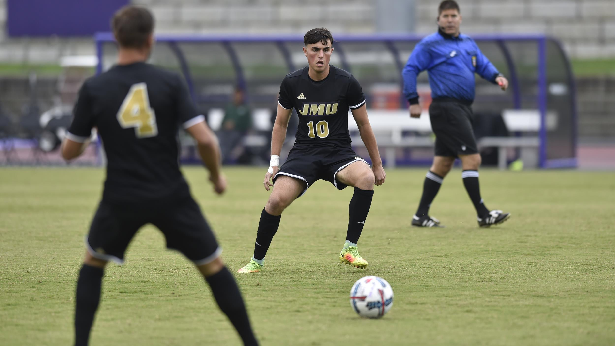 Men's Soccer: Dukes Unable to Answer Early Deficit and Fall to Radford, 4-3)