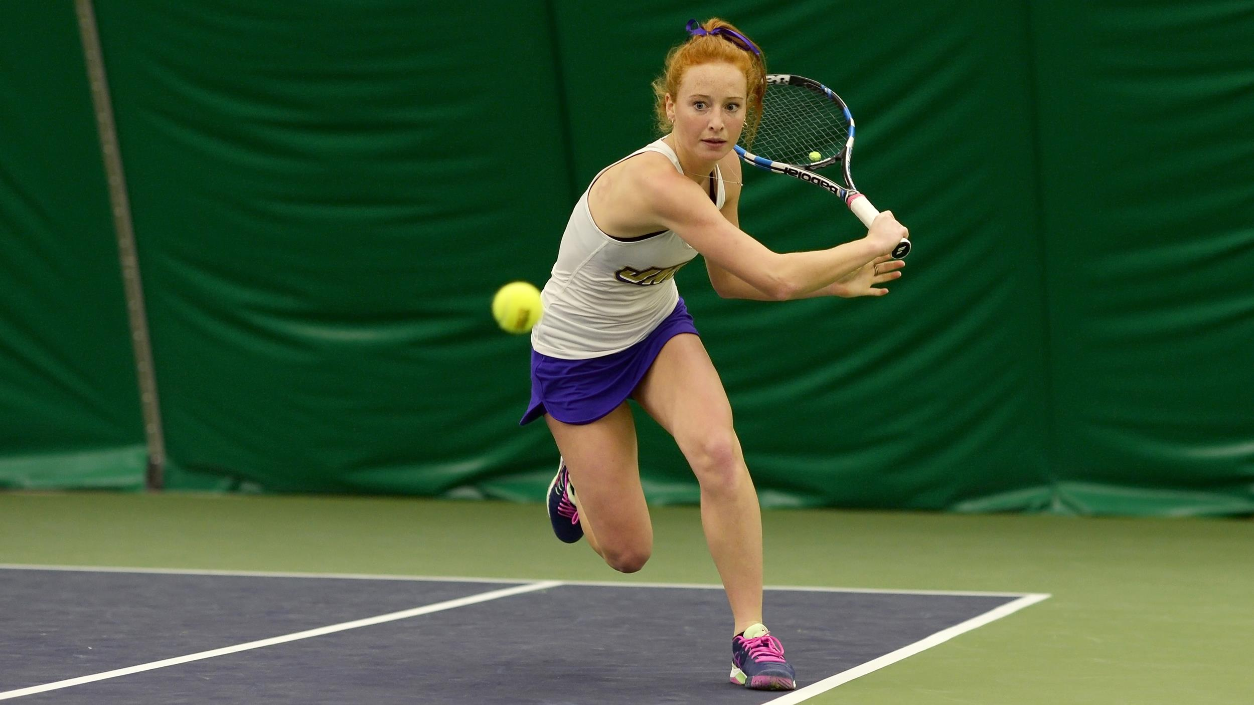 Women's Tennis: Dukes Sweep Morgan State 7-0, Stretch Opening Win Streak to Six)