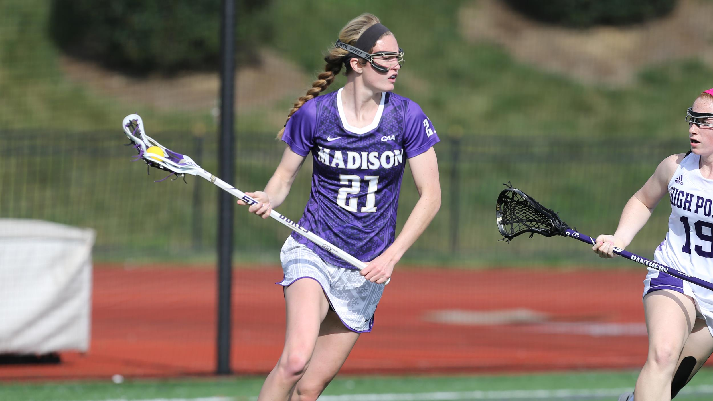 Women's Lacrosse: #8/6 Dukes Grind Out 13-11 Victory at High Point)