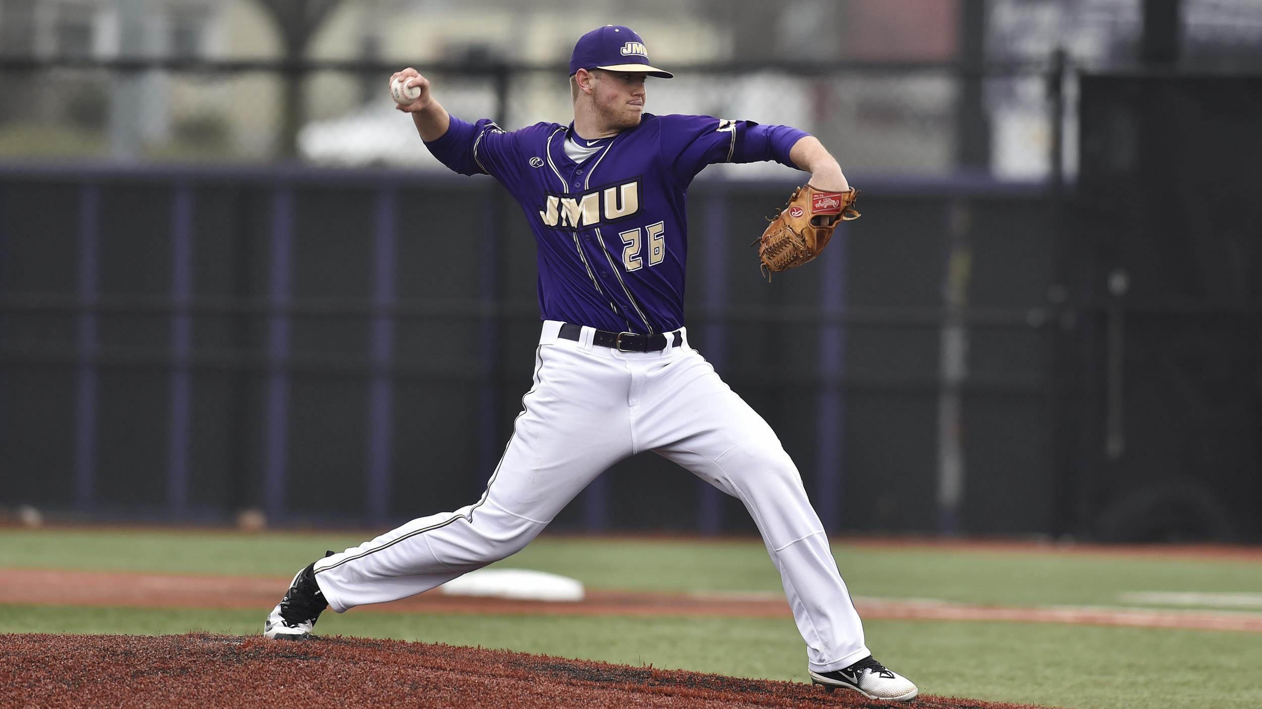 Baseball: JMU Evens Series Against Albany)