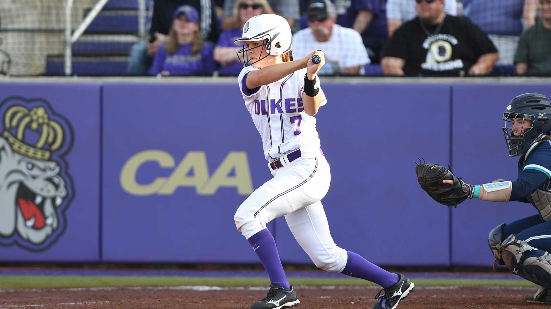 Softball: Dukes Cap Off Perfect Weekend With Wins Over Penn State, Western Carolina)